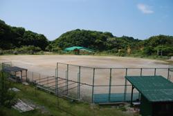 写真:ソフトボール場
